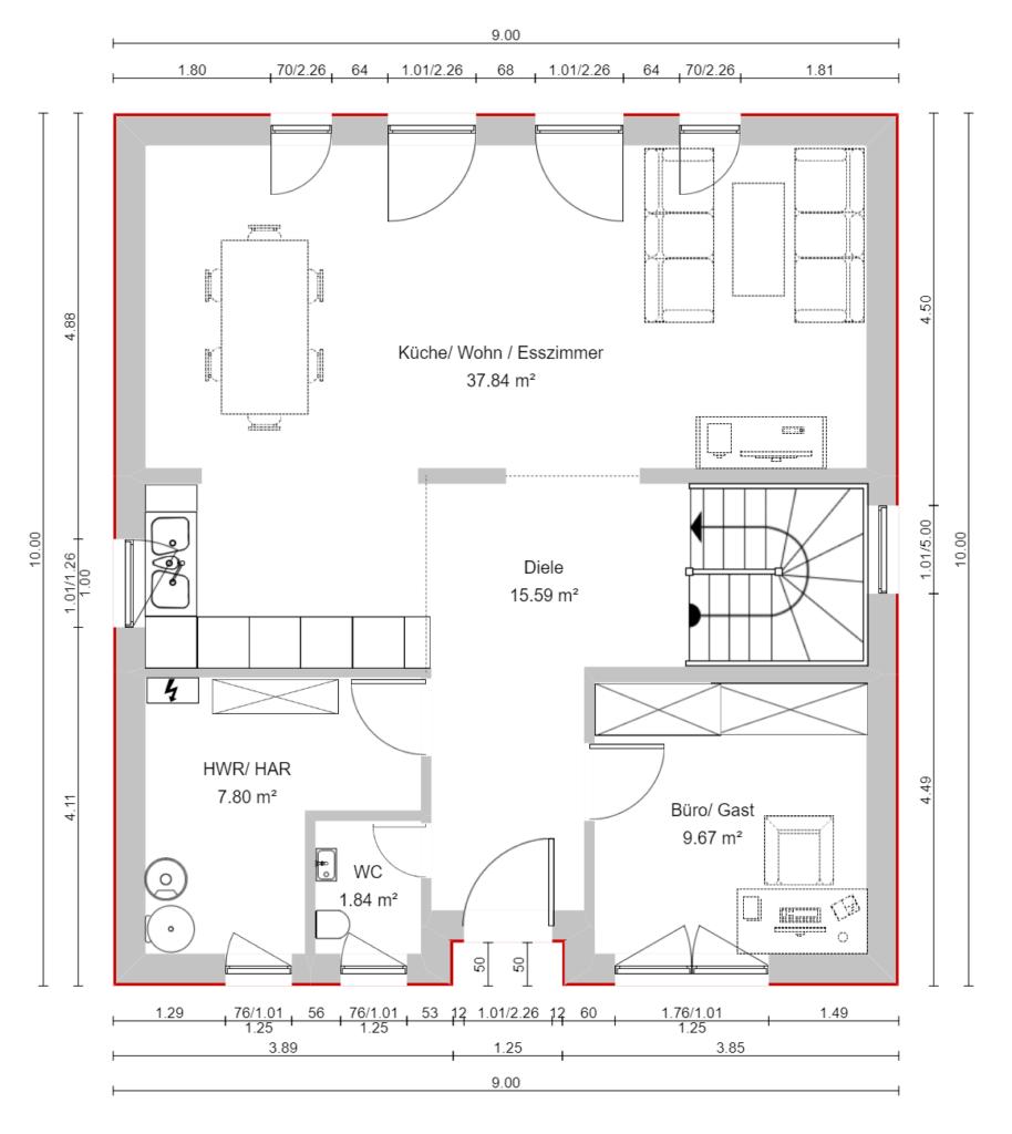 Markhaus classic pure Erdgeschoss 9