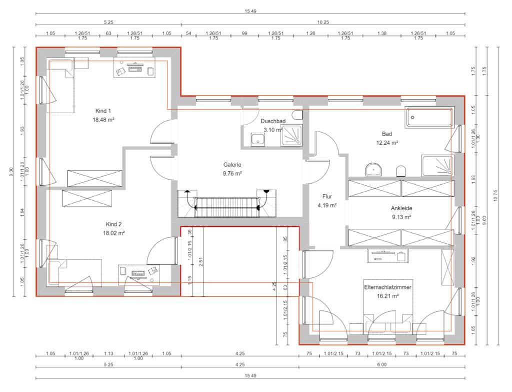 Obergeschoss 3